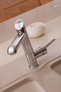 Zip All In one HyrdroTap - One tap delivers hot and cold water plus boiling and chilled filtered drinking water.