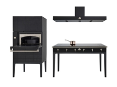 W collection. Oven tower, Hood & Induction tab